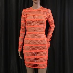 Dresses & Skirts - Fishnet dress